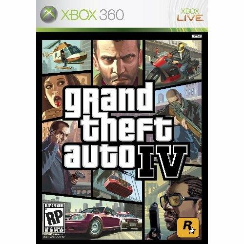 Rockstar Games Grand Theft Auto IV (Xbox 360) Software - jocuri