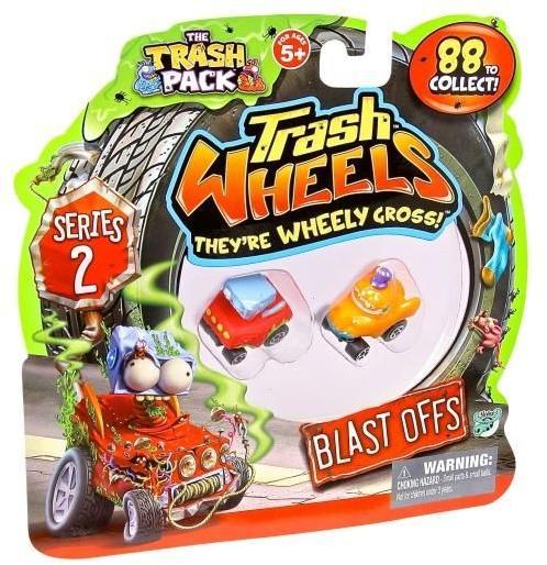 Vásárlás: Moose Trash Pack: Kukabúvárok - Járgányok S2 2db ...