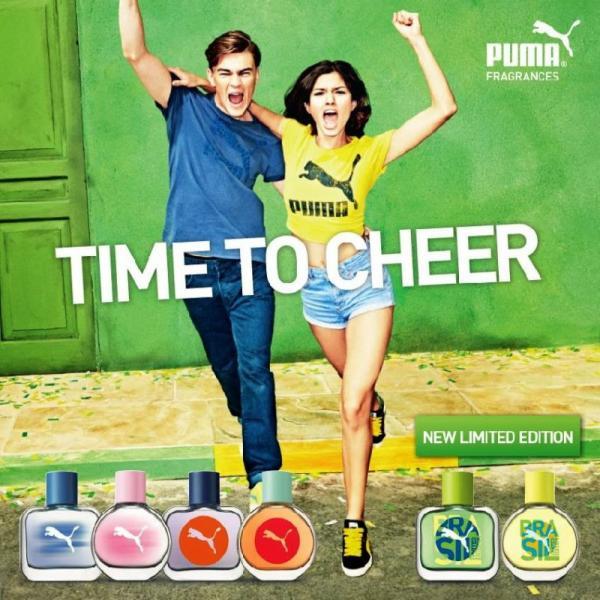 Puma Brasil Yellow Woman Limited Edition EDT 40ml