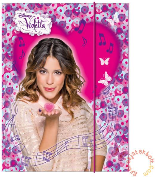 Vásárlás  DERFORM Violetta gumis mappa A 4 (TGA4VI) Irattartó ... 1e6462e468