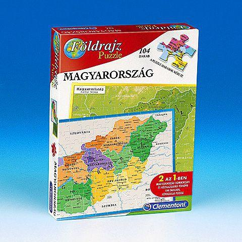 Vasarlas Clementoni Magyarorszag Foldrajz 104 Db Os 640379