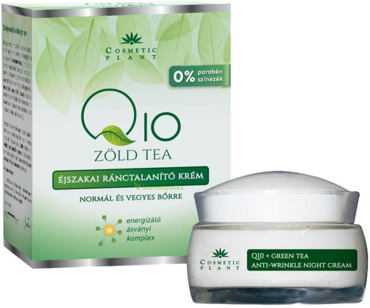 Vásárlás: Cosmetic Plant Q10 és Zöld tea éjszakai..