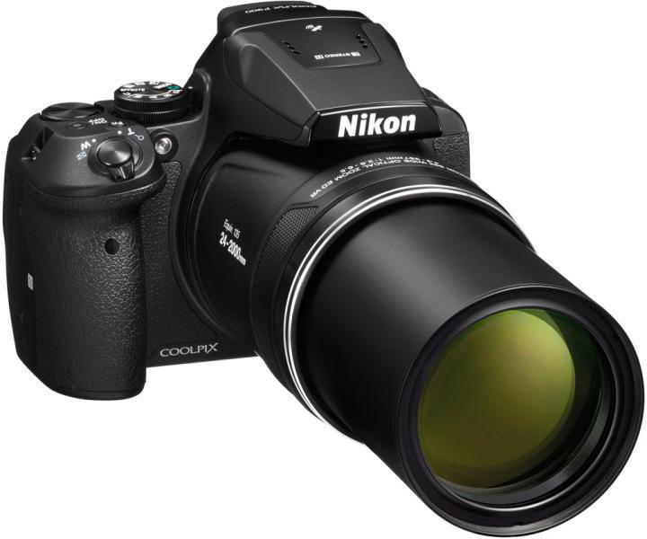 Nikon P900 Käytetty