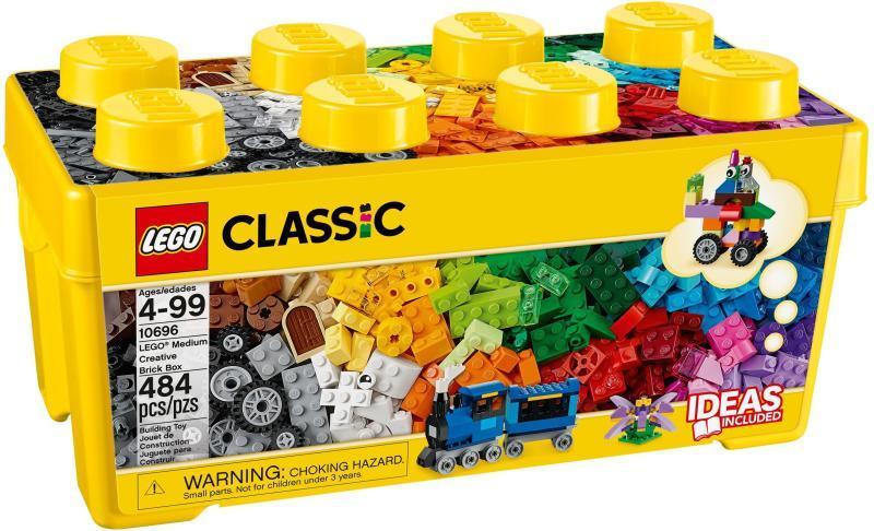 Vásárlás  LEGO Classic - Közepes méretű kreatív építőkészlet (10696 ... b39e1c7a5d
