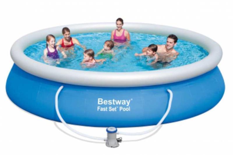 01ac961654a9 Vásárlás: Bestway ARAL puhafalú kerti medence vízforgatóval 427x91cm ...