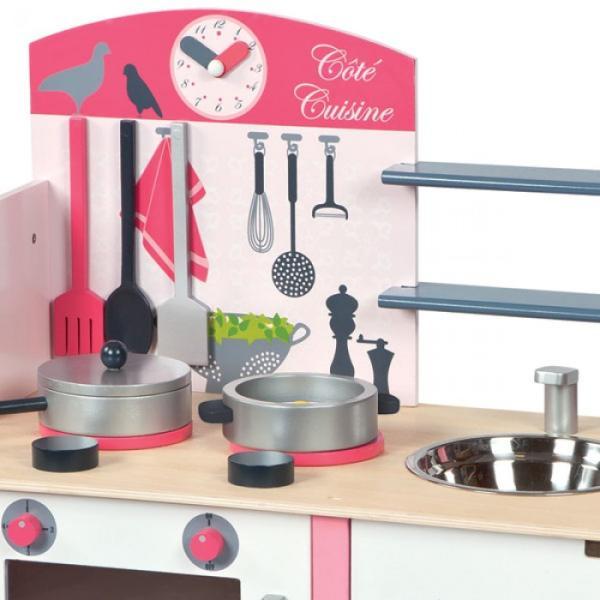 V s rl s janod mademoiselle maxi cooker 78 cm gyermek - Cuisine mademoiselle janod ...