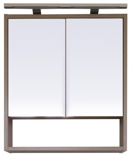 Vásárlás: Leziter Luna 60 felső tükrös szekrény LUNA60F Fürdőszoba ...