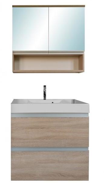 Vásárlás: Leziter SOL 70 komplett fürdőszoba bútor, wenge 2 ajtós tükrös felső résszel SOL70TÜW ...