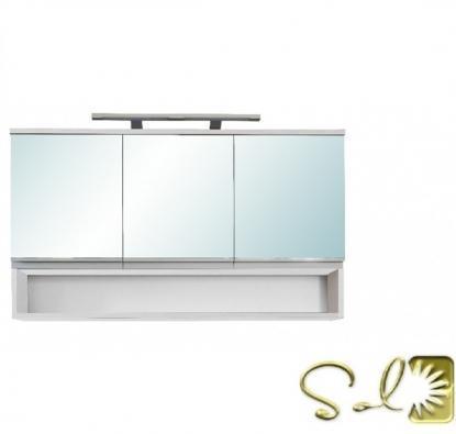 Vásárlás: Leziter SOL 120 3 ajtós tükrös szekrény SOL120TF ...