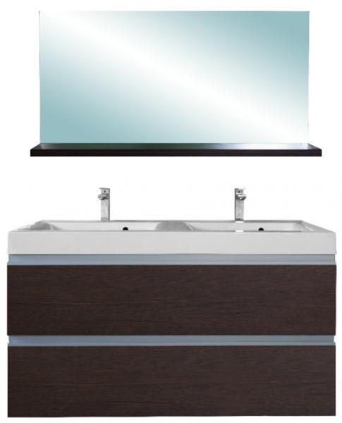 Vásárlás: Leziter SOL 120 komplett fürdőszoba bútor, tükörfényes ...