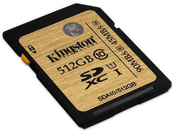 Vásárlás: Kingston SDXC 512GB Class 10 SDA10/512GB, eladó