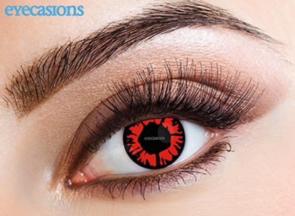 Eyecasions Crazy Explosion red (2 db) - havi kontaktlencse vásárlás ... b07bcf2c3b