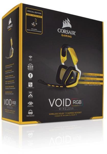 Vásárlás  Corsair VOID Wireless 7.1 (CA-9011135) Mikrofonos ... d7107c619f