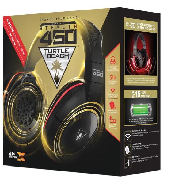 Vásárlás  Turtle Beach Stealth 450 Mikrofonos fejhallgató árak ... 000a70d8ad