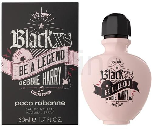 Black XS Be A Legend Debbie Harry EDT 50ml