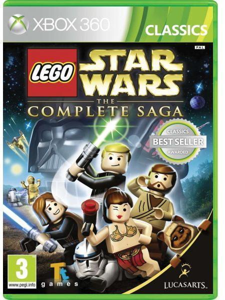LucasArts LEGO Star Wars The Complete Saga (Xbox 360) játékprogram ...
