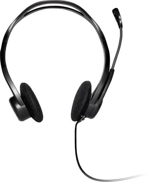 Vásárlás  Logitech PC 960 (981-000100) Mikrofonos fejhallgató árak ... c6b5322844