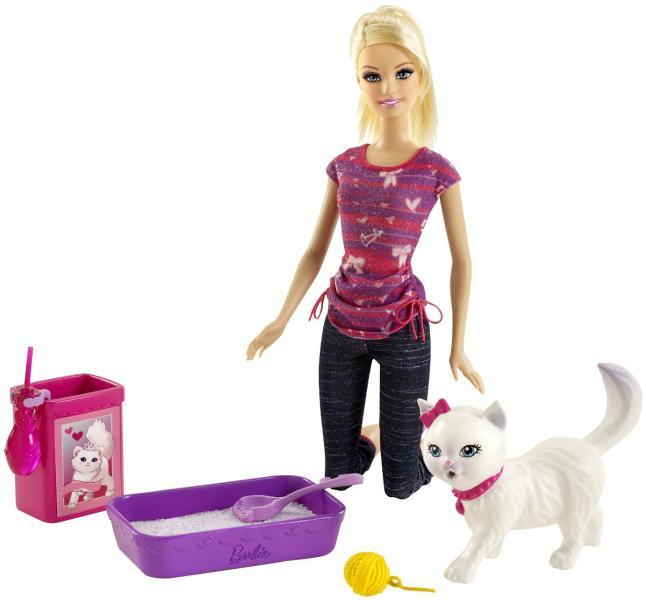 Mattel Barbie Invata Pisica Blissa La Litiera Bdh76 Papusa Barbie