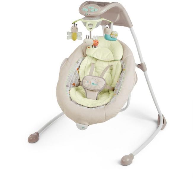 ingenuity inlighten cradling swing seneca leagan si balansoar