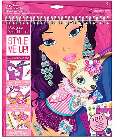 0b73d24ed8 Vásárlás: Style Me Up! Divattervező füzet - Kutyás Kreatív játék ...