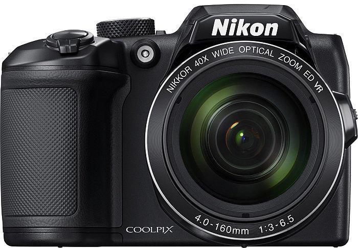 Nikon Coolpix B500 digitális fényképezőgép vörös (VNA953E1)