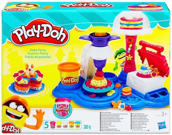 8b15bf2a64 Vásárlás: Hasbro Play-Doh - Süti Parti gyurmakészlet (B3399) Gyurma ...