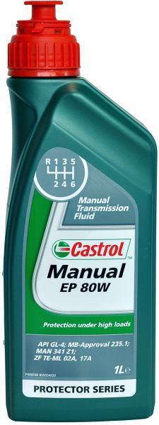 Castrol Manual EP 80w-90 Gear Oil (15032B) 1L