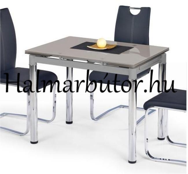 Vásárlás: HALMAR Logan 2 bővíthető, üveg étkezőasztal Étkezőasztal ...