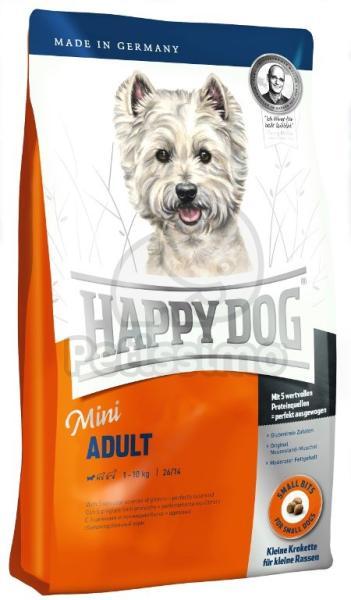 v s rl s happy dog mini adult 3x4kg kutyat p rak sszehasonl t sa mini adult 3 x 4 kg boltok. Black Bedroom Furniture Sets. Home Design Ideas