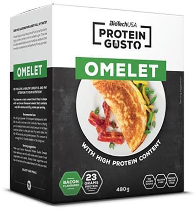 omelett protein