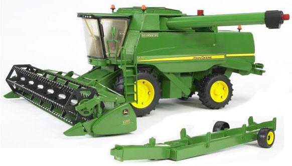 b37f08aaff3 Vásárlás: BRUDER John Deere T670i kombájn (02132) Játékautó és jármű ...