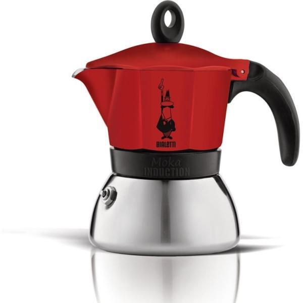 Bialetti Moka Induction 3 személyes kávéfőző antracit (4822)