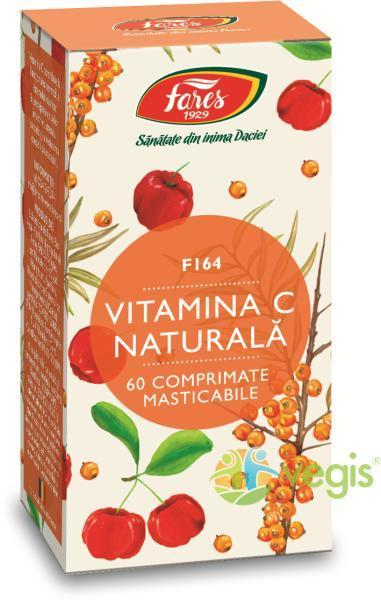 Vitamina C naturală, F, 60 capsule, Fares : Farmacia Tei online