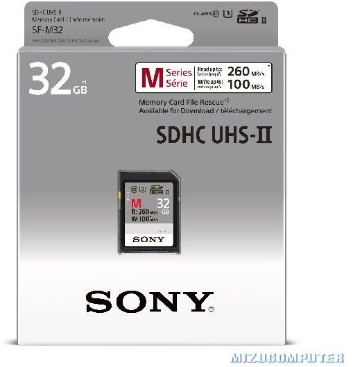 bfe8488cf1f Vásárlás  Sony SDHC 32GB C10 UHS-II SF32M