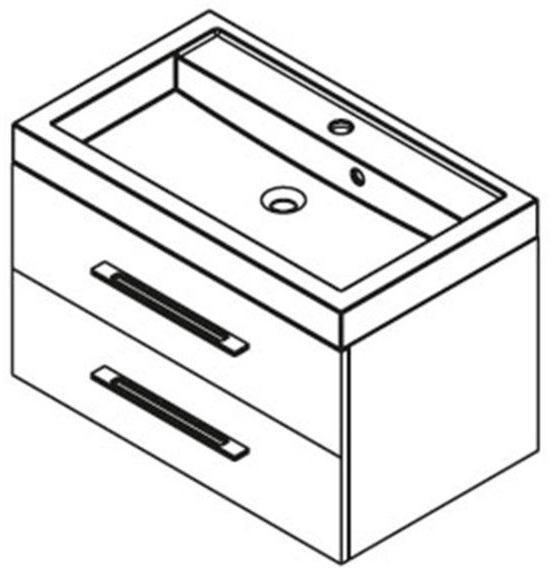 Vásárlás: SAPHO Marioka II 80 mosdó tartó szekrény Fürdőszoba bútor árak összehasonlítása ...