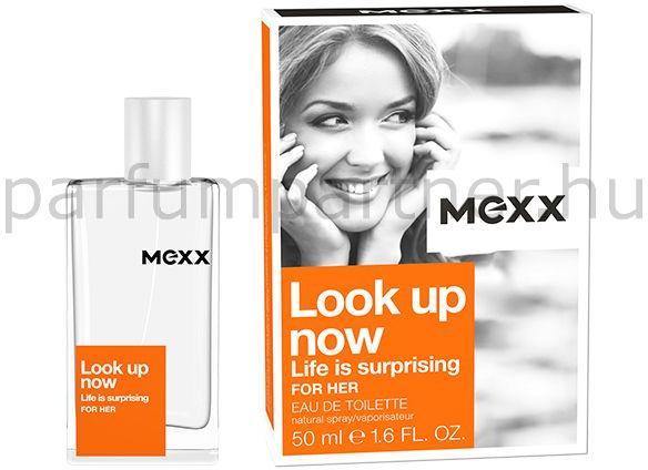 c317e2d411c Mexx Look Up Now (Life is surprising) for Her EDT 50ml parfüm ...