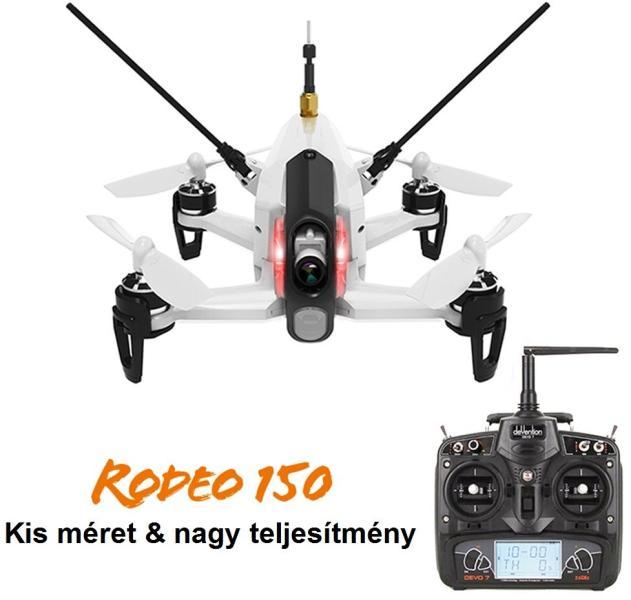 Vásárlás  Walkera Rodeo 150 Drón árak összehasonlítása 4bf7e15a19