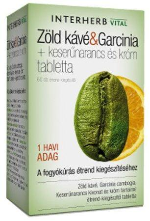 zöld kávé és garcinia tabletta