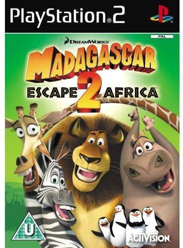 Activision Madagascar: Escape 2 Africa (PS2)