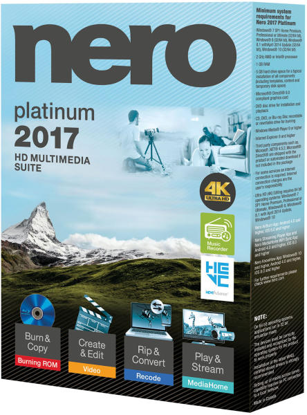 Download Nero Burning ROM Offline Installer