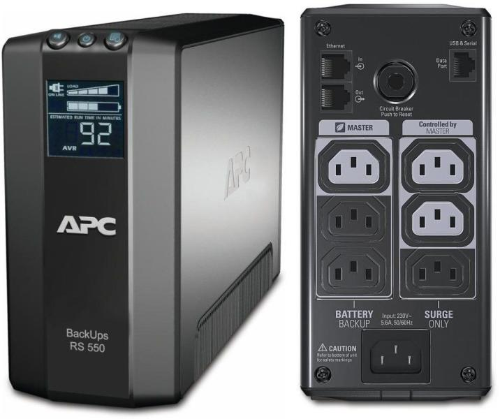 Schneider Electric BR550GI Back UPS RS LCD 550 Master Conrol Accesorios
