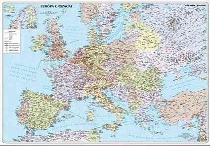 Vasarlas Nyir Karta Europa Orszagai Faliterkep Konyoklo Nyir