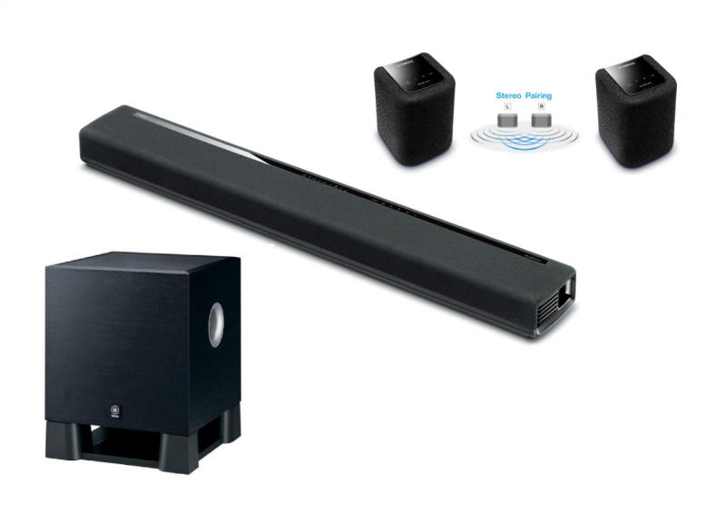 v s rl s yamaha musiccast yas 306 ns sw100 wx 010 7 1. Black Bedroom Furniture Sets. Home Design Ideas