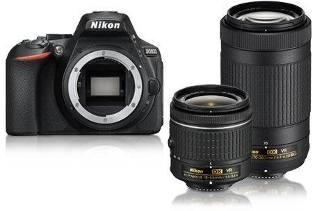 0ff9ec14225d Nikon D5600 + AF-P 18-55mm VR + AF-P 70-300mm VR (VBA500K004) Digitális  fényképezőgép