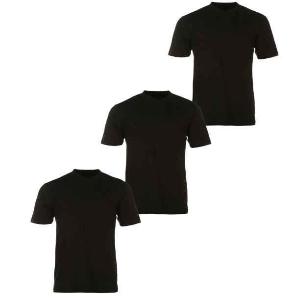 1d1dde8000 Vásárlás: Donnay Three Pack férfi V nyakú póló - fekete Férfi póló ...