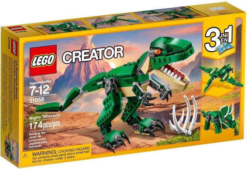 Vásárlás  LEGO Creator - Hatalmas dinoszaurusz (31058) LEGO árak ... 83aec40ab5