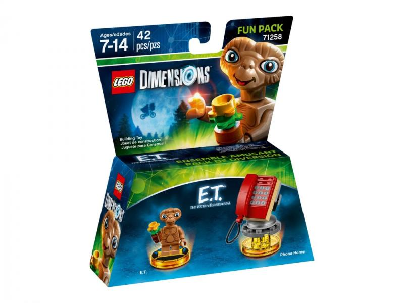LEGO Dimensions Fun Pack - E. T (71258)