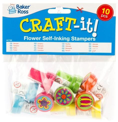 022ec9d447 Vásárlás: Baker Ross Virágmintás színes pecsétek (AC768) Kreatív ...