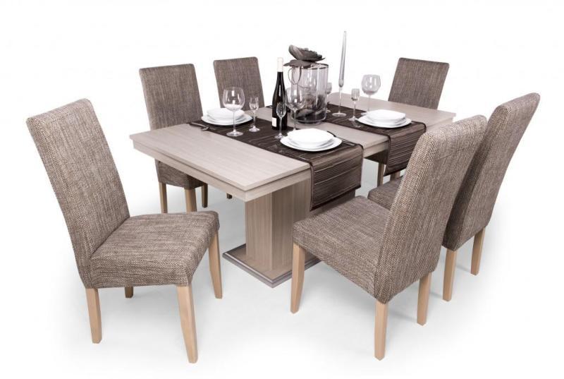 Vásárlás  Berta étkezőgarnitúra Flóra asztallal - 6 személyes ... 507554340f