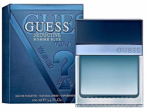 GUESS Seductive Homme Blue EDT 100ml Tester parfüm vásárlás c4eb8546cd